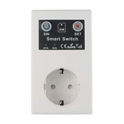 Kreema GSM Socket Handy Remote Smart Drahtlose Steuerschalter Steckdose Unterstützung SIM-Karte Eu-stecker für haushaltsgerät SC1-GSMT