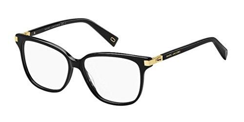 Marc Jacobs Unisex-Erwachsene Marc 175 2M2 54 Sonnenbrille, Schwarz (Black Gold)