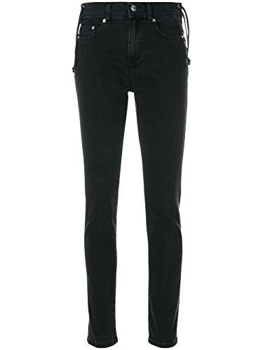 Alexander Mcqueen Jeans (Alexander Mcqueen Damen 495771Rkd021071 Schwarz Baumwolle Jeans)