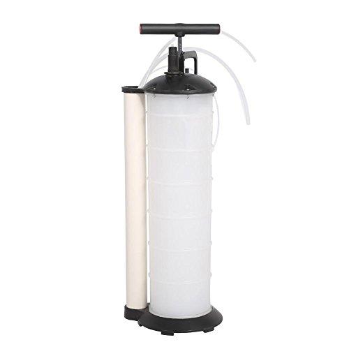 GOTOTOP Pompa aspira Olio, Manual Vacuum Oil Pump Extractor Fluido per Auto, Caravan, Marino, Barca, Capienza 7 Lit