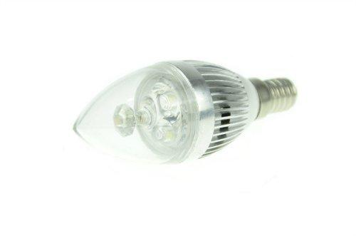 Domire 3W E14LED Leuchtmittel Kandelaber Lampe Warm Weiß ersetzen 25W Glühbirne 4Stück -