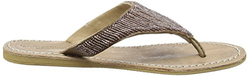 Laidback London 052ss16 Craine Flat, Sandales ouvertes femme Marron - Braun (tan/silky pink)