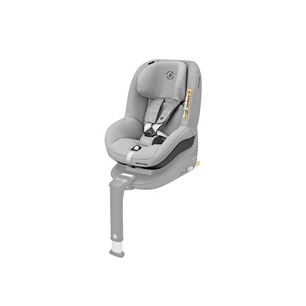 Maxi-Cosi Pearl Smart i-Size Toddler Car Seat, 6 months - 4 years, 9 - 18 kg, 67 – 105 cm, Nomad Grey Maxi-Cosi Car seat for toddlers, suitable from 6 months to 4 years (9 - 18 kg, 67 - 105 cm) Must be installed in combination with family fix one i-size base i-Size (R129) car seat legislation, due to rearward-facing travel up to 105 cm (4 years) 1