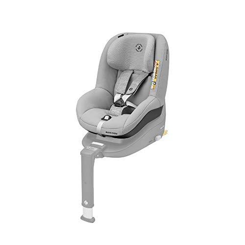 Maxi-Cosi Pearl Smart Kindersitz, Gruppe 1 (9-18 kg) ab 6 Monate - 4 Jahre, rückwärts und vorwärtsgerichtetes Fahren, für Isofix-Basis FamilyFix One i-Size, nomad grey