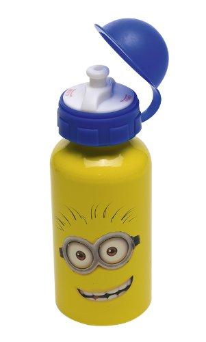 Joy Toy 72001 – Minions Alu-Trinkflasche, 400 ml, 6.5 x 6.5 x 17 cm