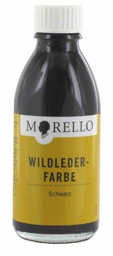 Morello Wildlederfarbe Wildleder 100ml Schwarz