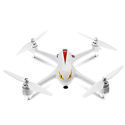 MJX Bugs 2 B2C Monster 1080P Camera GPS Altitude Hold 2.4GHz Brushless Motor RC Quadcopter RTF White by Tonsee from Tonsee
