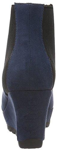 s.Oliver 25385, Bottes Classiques Femme Bleu (Navy 805)