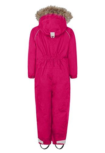 Ticket To Heaven Unisex Sportswear-Set Schneeanzug Baggie m. Abnehmbarer Kapuze, Rosa (Beetroot Purple 2420), 116 - 2