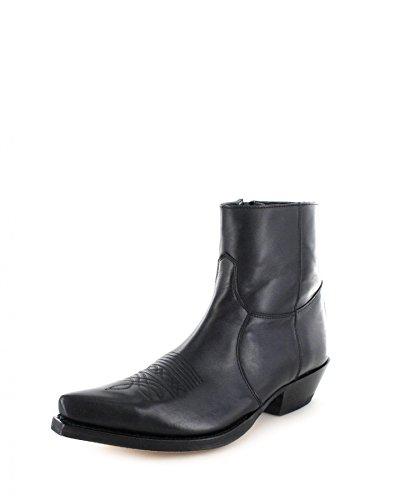 Sendra Boots, Bottes pour Homme Schwarz