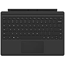 Funda con teclado para Microsoft Surface Pro 4 - Negra