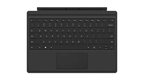 Microsoft Cover con Tasti per Surface Pro 4, Nero