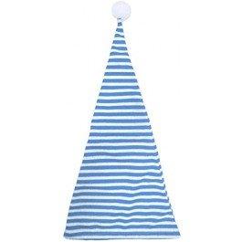 Generique - Mütze Blau und Weiß Bommel -