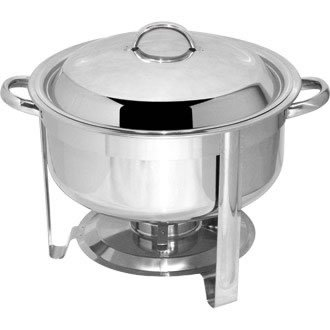 chen-Set 330x 420x 345mm, 18/8Edelstahl, Speisewärmer (Chafing Dish-brenner)