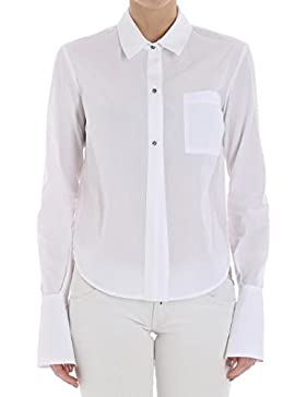 Pinko Mujer 1B12ZC6716Z04 Blanco Algodon Camisa