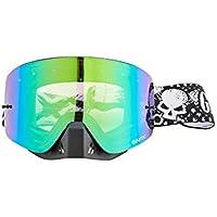 GRENZGAENGER NFX Goggles MX green ionized