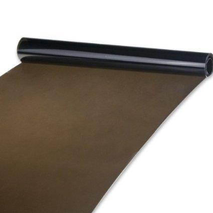 Preisvergleich Produktbild 2-er THG Tönungsfolie 30x120cm Sonnenschutzfolie Scheibenfolie Autofolie Fensterfolie Folie tiefschwarz