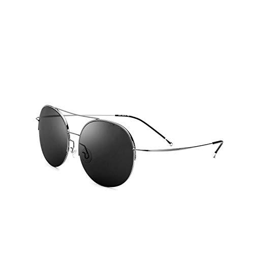 Sport-Sonnenbrillen, Vintage Sonnenbrillen, Elastic Titanium Alloy Sunglasses Men Oversize Round Nylon Lens Women Vintage Sun Glasses For Men Big Face Clearance Sale 8618 5