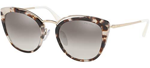 Ray-Ban Damen 0PR 20US Sonnenbrille, Blau (Spotted Opal Brown/Pale Gold), 54.0