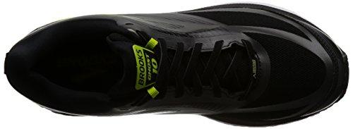 Brooks Ghost 10 GTX, Scarpe da Running Uomo Nero (Black/Ebony/Limepopsicle)