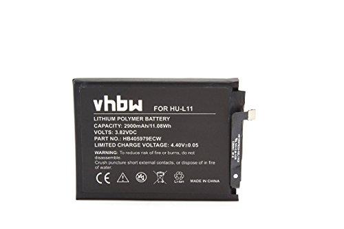 Image of vhbw Li-Polymer Akku 2900mAh (3.82V) für Handy Smartphone Telefon Huawei CAN-L11, CAN-L13, Nova, Nova Dual Sim