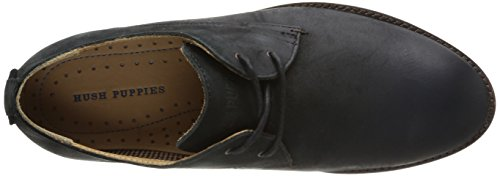 Hush Puppies Damon Hamlin, Chaussures de ville homme Noir (Black Leather)