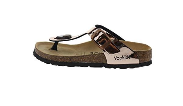 YOOKIDS Or Tongs//Sandales Craie