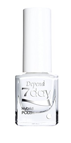 Depend 7 day – Vernis effet Gel, ton Pure White