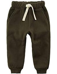 Kinder Hose Kleinkind Jungen M/ädchen Fleece Hose Trainingsanzug Unterteile Training Jogginghose