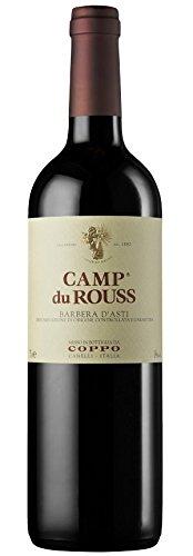 Coppo - Camp du Rouss Barbera d'Asti Docg 3 lt. Jeroboam in Cassa Legno