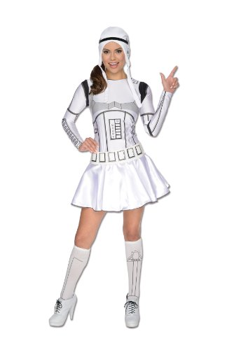 Rubie's 3887129 - Stormtrooper Lady Dress Adult ,  Größe:  XS