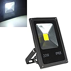 20W Pure white : TOOGOO(R) 20W LED SMD Flood Light Pure White Outdoor Garden Lamp Slim 85-265V New