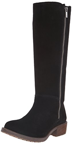 Lucky Brand Desdie Daim Botte Black