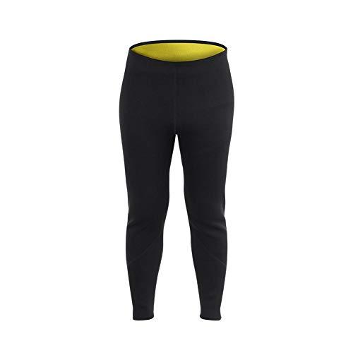 Alomejor Sauna Legging Hosen Neopren Heiß Schweiß Körper Männer Frauen für Fitness Sport(M)