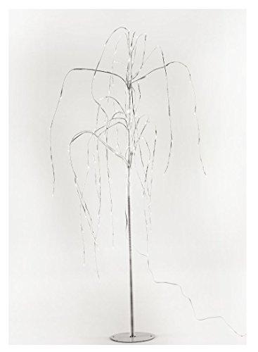 Albero di natale luminoso a led bianco: 1 metro e 120 led salice