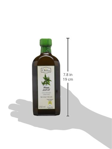 Olvita Raw Hemp Seed Cold-Pressed, Unrefined 250ml