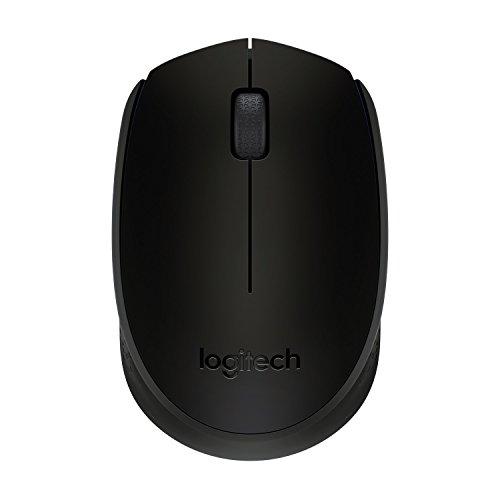 Logitech B170 Wireless Mouse (Black)