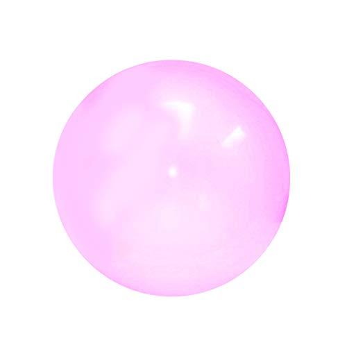 bares Ball-Spielzeug im Freien haltbarer TPR transparenter Strand Bubble Ball gefüllt mit Wasser-Ballon, für Sommer Strand Pool Party Supplies, Geburtstagsgeschenke (Lila) ()
