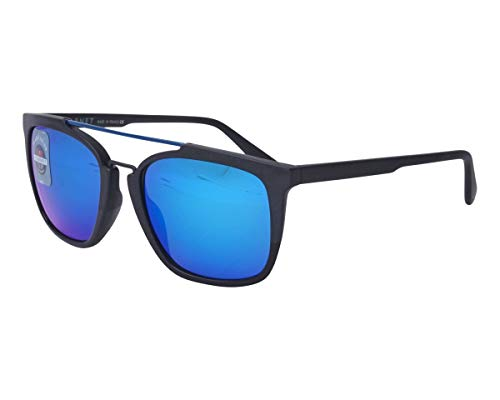 Vuarnet Sonnenbrillen (VL-1601 0001-1126) schwarz matt - grau-braun - blau verspiegelt