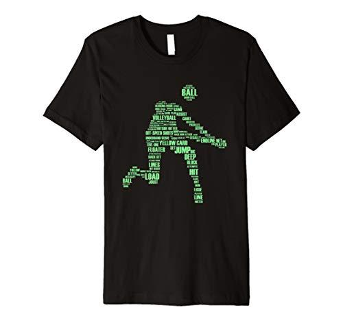 Volleyballer Sportler Geschenk - Beach Volleyball T-Shirt