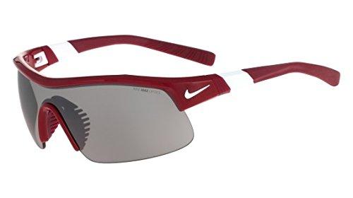 Nike Sonnenbrille Show X1Sonnenbrille, Herren, Crdnl/Wht W/Grey W/Slvr FL Lns