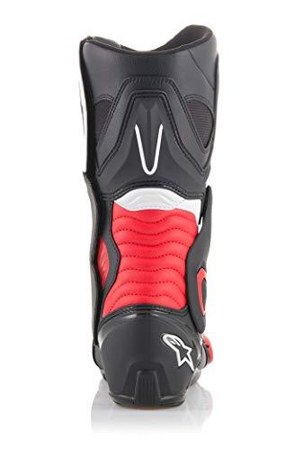 Alpinestars SMX-6 V2 - Botas de Motociclista, Talla 43, Color Negro y...
