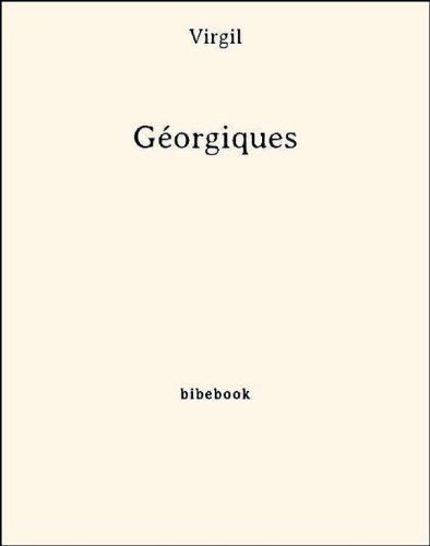 Couverture du livre Géorgiques