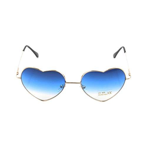 Sportbrillen, Angeln Golfbrille,Brand Designer Sunglasses For Men Women New Style Hearts Frame UV400 Mirror Sun Glasses Oculos Vintage Eyewear Sunglasses No 02