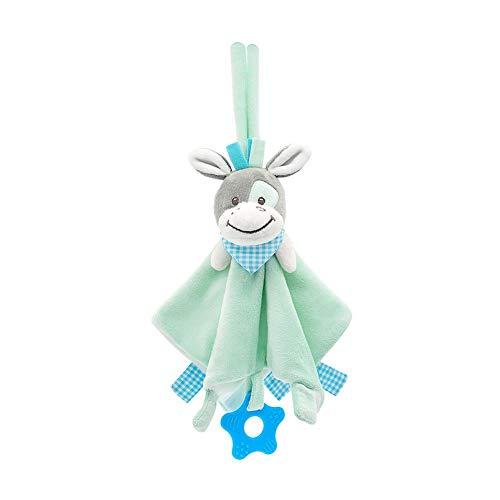 AEROBATICS Baby Beruhigendes Spielzeug,Baby-Sicherheitsdecke Plüsch Schmusetuch Kuscheltuch Schnuffeltuch für Monate Mädchen Jungen Neugeborenen Kleinkind
