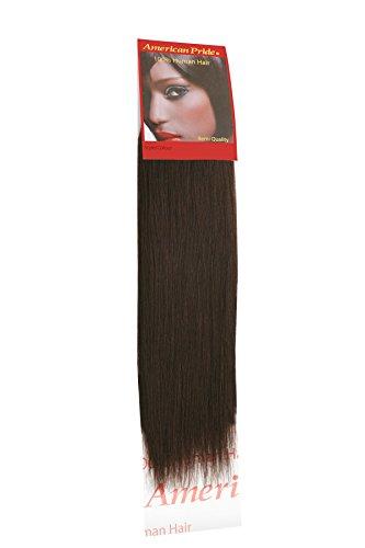 tissage Yaki brownest Marron (2) 40,6 cm | Coupe Cheveux Extensions Extensions de cheveux humains | | 40,6 cm American Pride 2