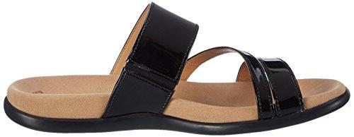Gabor Shoes Fashion, Ciabatte Donna Nero (schwarz 77)