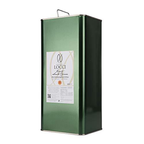 Lattina olio extravergine di oliva dop umbria tenute santa chiara (5l)