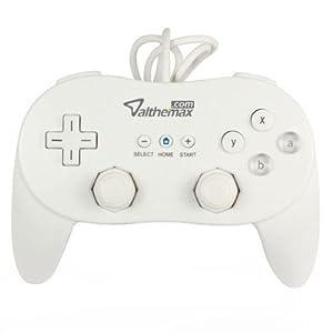 Althemax® Classic Pro Spiel Joysticks Controller-Remote für Nintendo Wii Multi Color – weiß