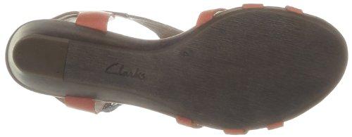 Clarks Playful Club, Scarpe con cinturino alla caviglia donna Viola (Violett (Tan Combi Lea))